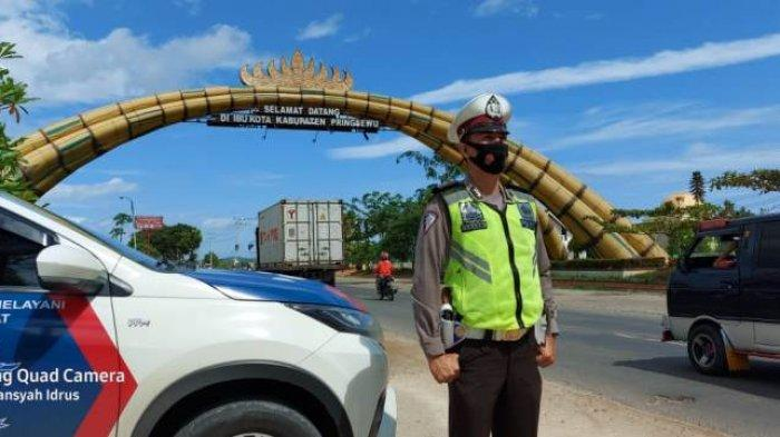 Waspadai Titik Rawan Lakalantas di Jalinbar Pringsewu Selama Libur Nataru