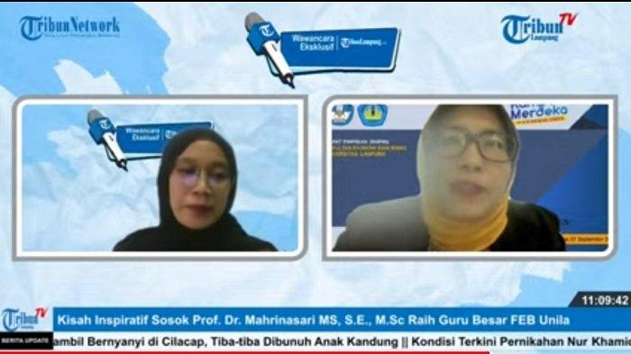 Wawancara Eksklusif Guru Besar FEB Universitas Lampung, 'Tuntut Ilmu Sepanjang Hayat'