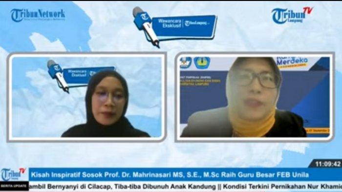 Cerita Prof Mahrinasari Rintis Karier hingga Menjadi Guru Besar FEB Unila