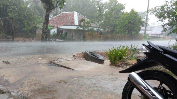 Dandim Mengucap Syukur, Rabu Pagi Way Kanan Diguyur Hujan: Jawaban Salat Istisqa