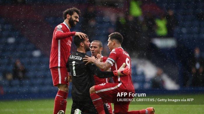 Hasil Liga Inggris West Brom vs Liverpool 1-2, Sang Kiper Jadi Pahlawan