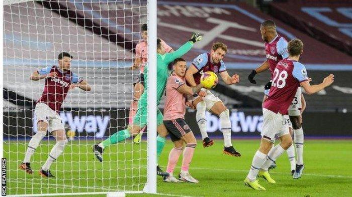 Hasil Liga Inggris West Ham vs Sheff United, Dua Klub London Sukses Gusur Liverpool