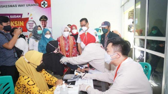 Hari Ini Ibu Hamil di Lampung Selatan Jalani Vaksinasi Covid-19