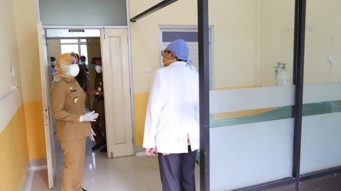 Ruang Isolasi RSUD Menggala Lampung Penuh Terisi, Sebagian Pasien Luar Tulangbawang