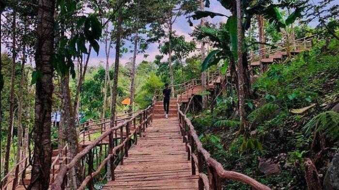Wisata Lampung, Kunjungi Cantiknya Wisata Alam di Lengkung Langit Dua