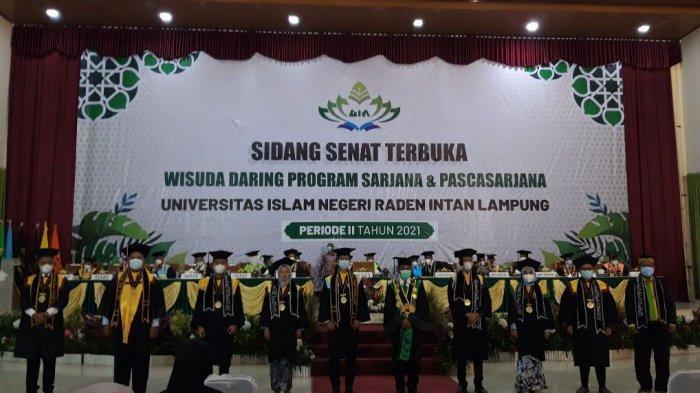 UIN Raden Intan Lampung Gelar Wisuda 994 Mahasiswa Secara Daring