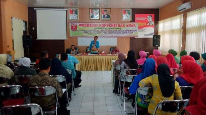 Pemkab Lampung Barat Gelar Workshop KHA dalam Pemenuhan Hak-hak Anak