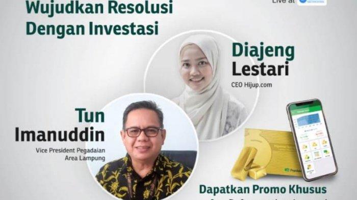 Wujudkan Resolusi dengan Investasi Lewat Webinar Resolusi Emas