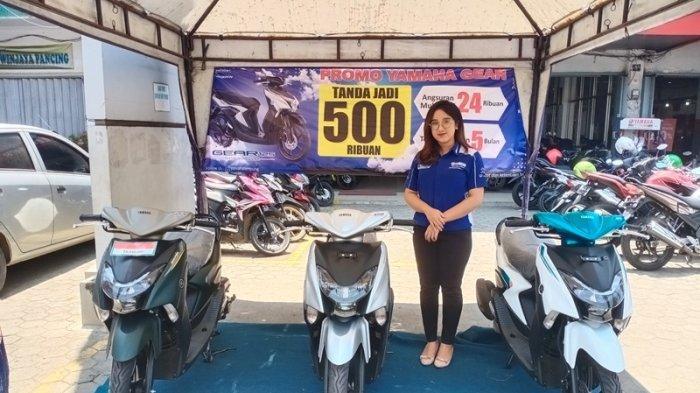 Info Motor, Promo Okto Gear DP Rp 500 Ribu Bisa Bawa Pulang Yamaha Gear 125