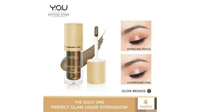 Ilustrasi YOU The Gold One Perfect Glam Liquid Eyeshadow. Simak harga YOU The Gold One Perfect Glam Liquid Eyeshadow di dalam promo Tokopedia 2021.