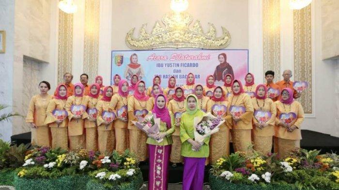 Silaturahmi Sambut Ramadan, Ketua TP PKK Yustin Ridho Ficardo Bangga Organisasi Perempuan di Lampung