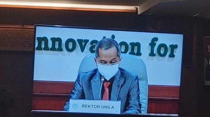 Rektor Unila Tekankan Pentingnya Literasi Digital Tangkal Hoaks di Masa Covid-19