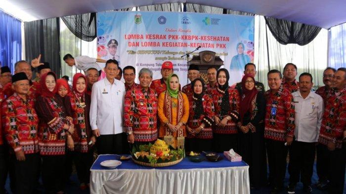 Yustin Ficardo Pimpin Penilaian Lomba Kesrak PKK-KKBPK-Kesehatan Lampung Tengah