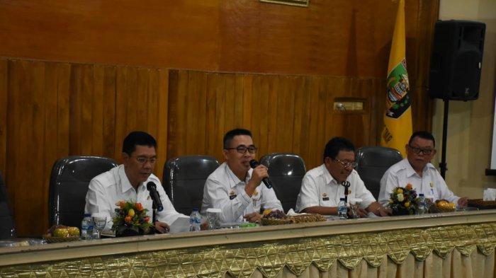 Zaiful Bokhari Pimpin Rapat Pelaksanaan Percepatan Pelaksanaan DAK Tahun Anggaran 2019