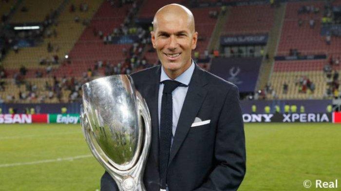 Jadwal Liga Champions, Akankah Zidane Ciptakan Sejarah dengan Raih 4 Trofi Sebagai Pelatih