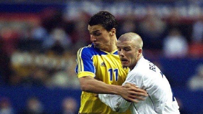 Jelang Swedia Vs Inggris, Ibrahimovic Taruhan dengan David Beckham