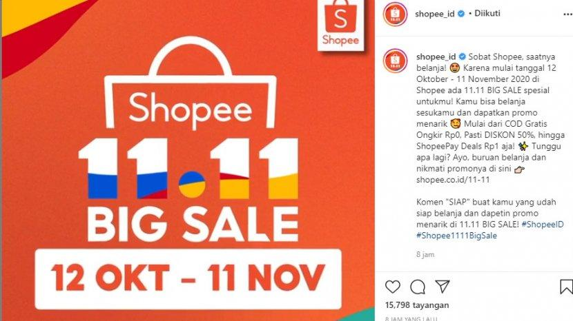Promo Shopee 2020 Diskon 50 Persen Hingga Shopeepay Deals Rp 1 Tribun Lampung