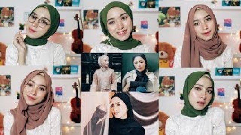 Video Tutorial Hijab 3 Model Hijab Pasmina Bahan Wolfis Tribun Lampung