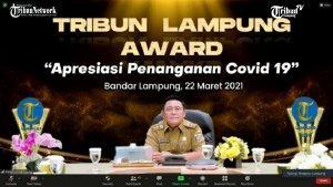 Tribun Lampung Award 2021, Pemkab Lampung Barat Pioneer of ...