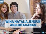 Wina Natalia Jenguk Anji di Tahanan, Tak Tahu Suaminya Pakai Narkoba