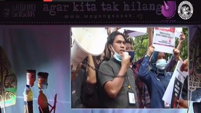 Peringati Hari Kebebasan Pers Sedunia, AJI Mataram Gelar Pertunjukan Wayang Sasak Virtual