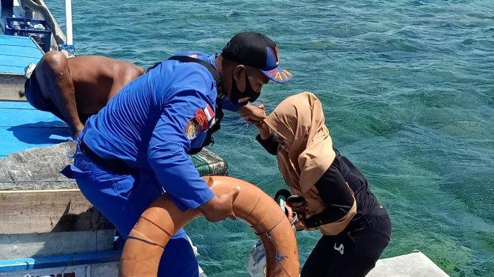 Penumpang Kapal Nelayan yang Nyaris Tenggelam di Lombok Selamat, Berkat Gerak Cepat Tim Polairud