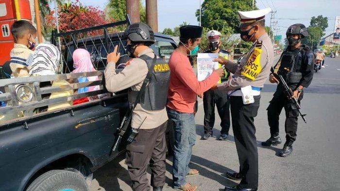 Warga Dilarang Pelesiran saat Libur Lebaran, Polres Lombok Tengah Lakukan Penyekatan