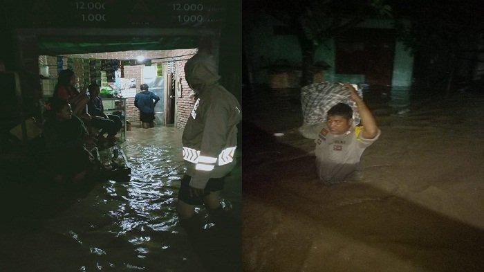 Dua Kecamatan di Dompu Dihantam Banjir, Ratusan Rumah Warga Terendam