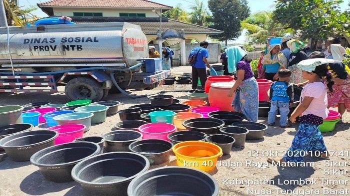 Tiga Kabupaten Kekeringan Parah, NTB Naik Status Jadi Tanggap Darurat Kekeringan
