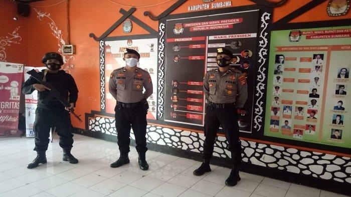 Pilkada Sumbawa dalam Persaingan Sengit, Kepolisian Tambah Pasukan Jelang Pleno di KPU