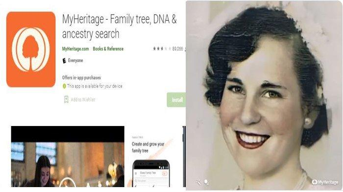 VIRAL Aplikasi MyHeritage Buat Foto Seolah Hidup Bisa Berkedip dan Tersenyum, Ini Caranya