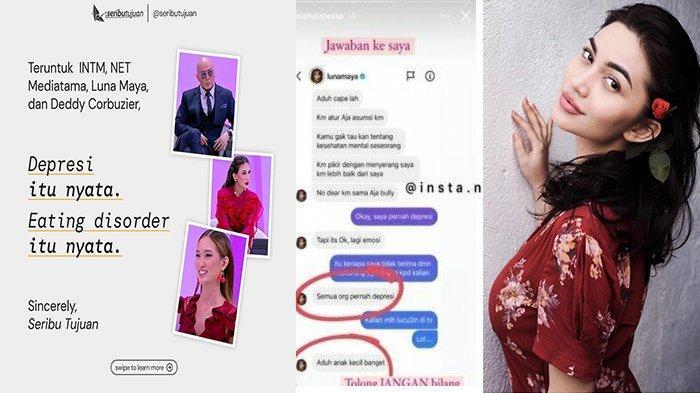 Putri Hotman Paris Tegur Luna Maya dan Deddy Corbuzier soal Kesehatan Mental, Ini Reaksi Ariel Tatum