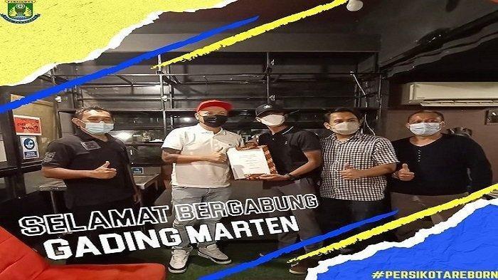 Gading Marten Akuisisi Klub Persikota Tangerang
