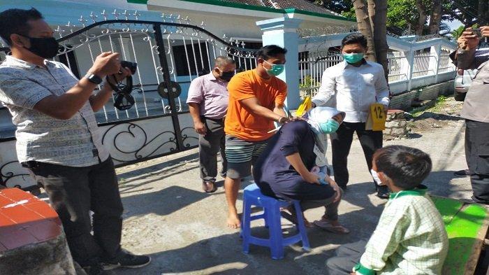 Pedagang Buah di Mataram Peragakan 21 Adegan saat Membunuh Istrinya