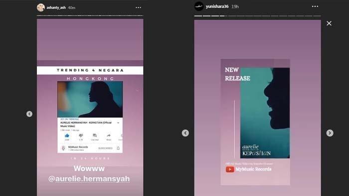 Yuni Shara Promosikan Single Terbaru Aurel Hermasnyah, Krisdayanti Justru Unggah Aktivitas Ini