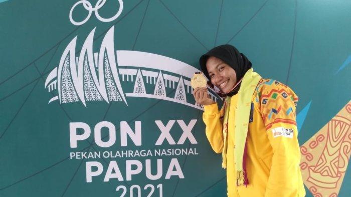 Atlet Panjat Tebing Nurul Iqamah Sumbang Medali Emas Keenam untuk NTB