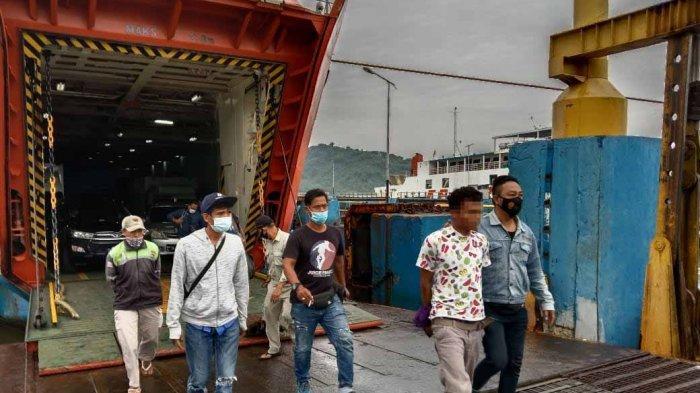 DITANGKAP: AW alias Botol, pelaku utama begal di jalur bypass bandara ditangkap Tim Puma Polres Lombok Barat, Senin (1/3/2021).