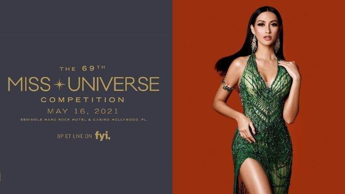 Profil Ayu Maulida, Wakil Indonesia di Ajang Miss Universe 2020, Tuai Pujian Kenakan Kostum Komodo