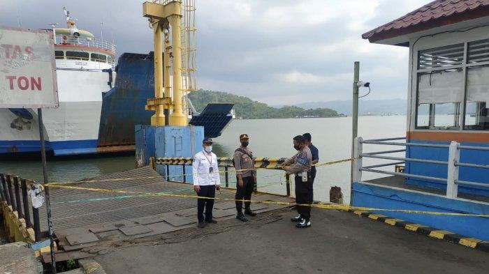 Kapal Feri Seruduk Dermaga I Pelabuhan Lembar, Aktivitas Bongkar Muat Ditutup Sementara