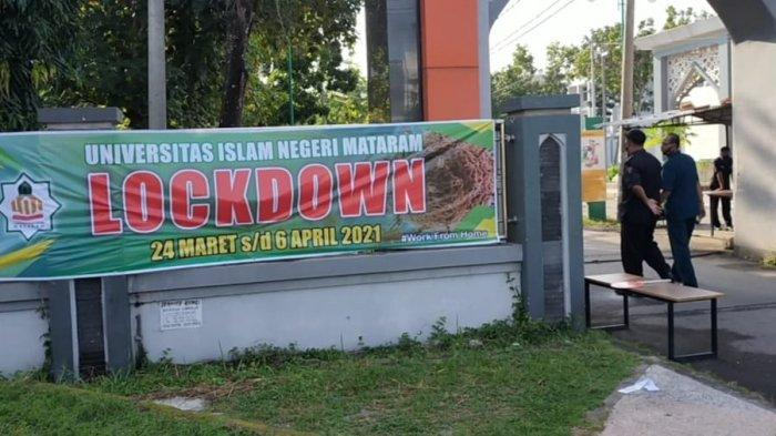 5 Dosen Positif Covid-19, Kampus UIN Mataram Lockdown Hingga 2 Minggu