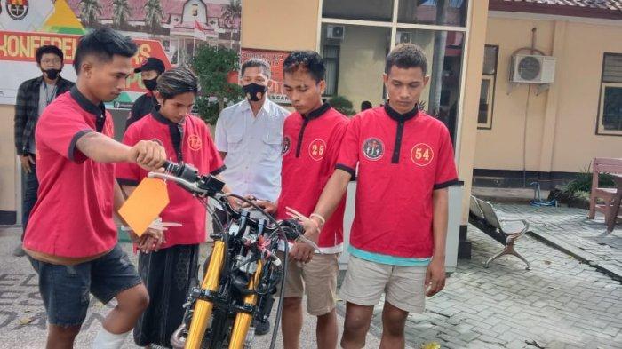 Begal Beraksi di Bypass Bandara Lombok, 4 Pelaku Diciduk 1 Orang Masih Buron