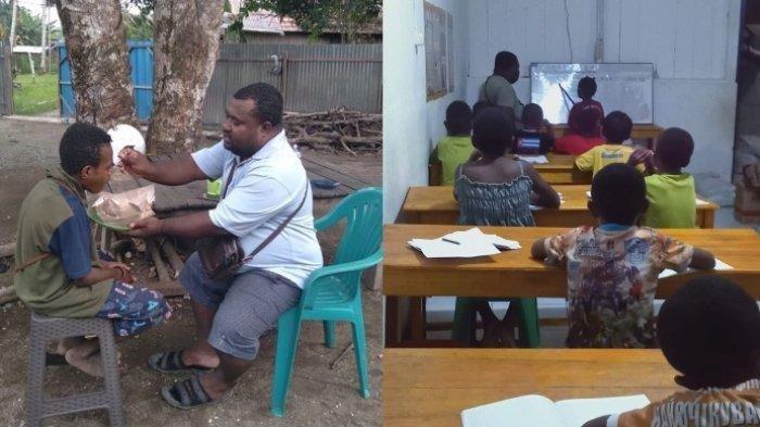 Viral Cerita Tukang Ojek Bangun Panti Rehabilitasi untuk Anak-anak Pecandu Lem dan Narkoba di Papua