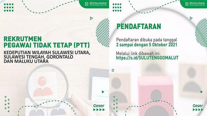 Lowongan Kerja BPJS Kesehatan untuk Pegawai Tidak Tetap, Simak Syarat dan Link Pendaftaran Online