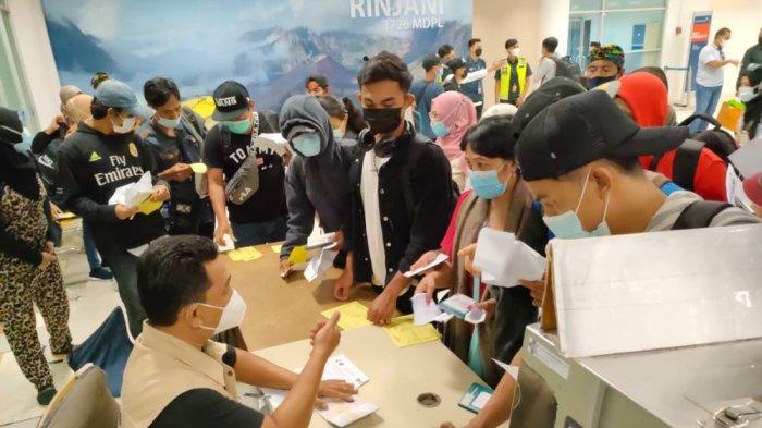 13.541 Buruh Migran asal NTB Dipulangkan, 32 Orang Sudah Jadi Jenazah