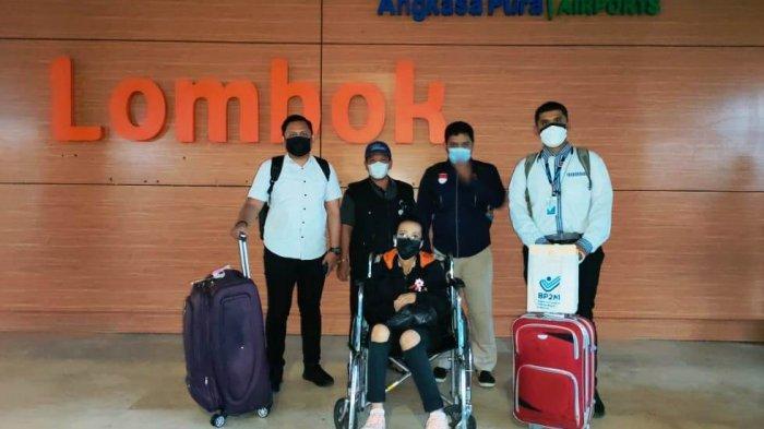 27 Pekerja Migran NTB Dipulangkan, 1 Orang Dalam Kondisi Sakit