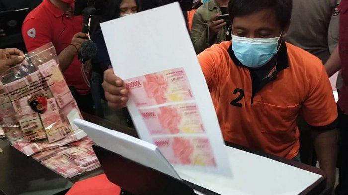 Pengakuan Pembuat Uang Palsu di Lombok: Uang Ini untuk Dibakar, Setelah 3 Hari akan Jadi Asli
