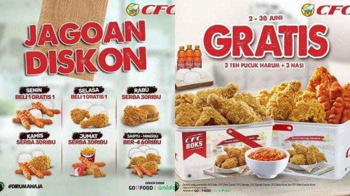 Promo CFC Jagoan Diskon, Beli 1 Gratis 1 Chicken Strips + Nasi, Periode hingga 15 Juli 2020
