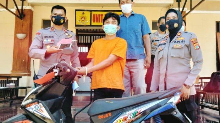 Gelapkan Motor Teman Sendiri, Pemuda di Mataram Diciduk Polisi