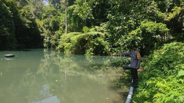 Pelajar Tewas Tenggelam saat Berenang di Danau Biru Lombok Tengah