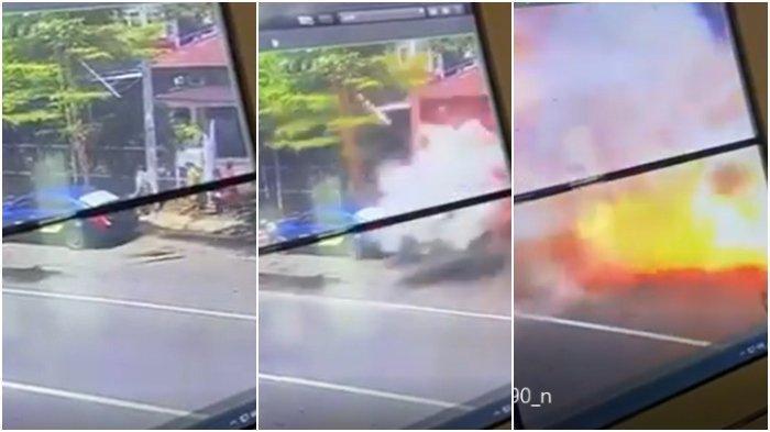 Satpam Gereja Katedral Makassar Jadi Penyelamat, Hentikan Pelaku Masuk Lalu Meledak